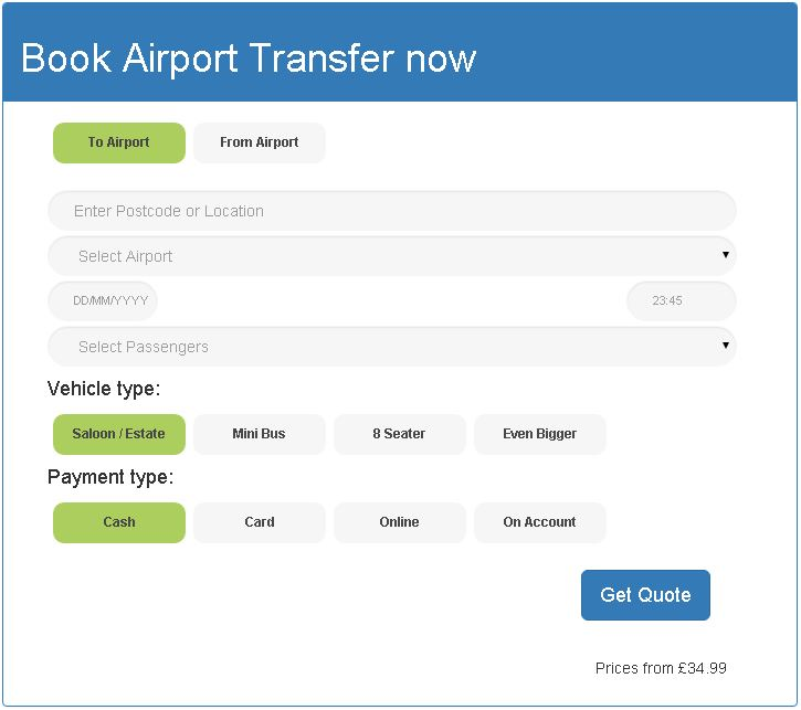 Book London City Airport Transfers